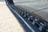 Trilha de borracha Maweco S25 do descarregador da trilha 320*90