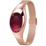 Horloge van de Armband van de Mannequin van dames het Slimme met de Bloeddruk van de Monitor van het Tarief van het Hart Z18