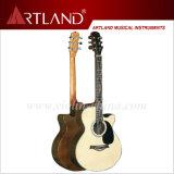 Guitarra acústica de Back&Side del palo de rosa superior Spruce (AG4068C)