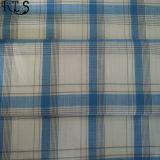 De katoenen Geweven Garen Geverfte Stof van de Popeline Lont voor Overhemden/Kleding Rlsc60-4sb