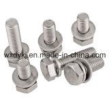 Hexagon-Kopfschraube und flacher Unterlegscheibe-Montage-Lieferant von China ASME/ANSI B 18.13.1m