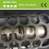 Macchina di plastica della trinciatrice utilizzata singola asta cilindrica del barilotto dell'HDPE dei pp