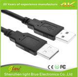 Прозрачный мужчина к женскому кабелю USB
