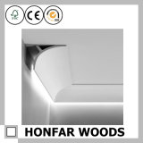 Decoração de interiores Estilo europeu Wood Crown Cornice Molding