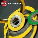 304 наружное кольцо, Ss304 внутреннее кольцо, Ss304 заварка, заполнитель графита, спиральн набивка раны с сертификатом ISO9001: 2008