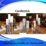 Supporto domestico moderno del candeliere dell'acciaio inossidabile della decorazione