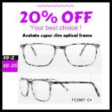 Algum frame ótico do acetato magro super disponível da cor
