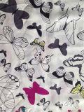 Cópia de seda de Habotai na borboleta Desgin