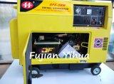 186fa het Model van de motor! Draagbare Luchtgekoelde 5kVA Diesel Generator