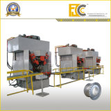 Dando forma à máquina para a borda da roda do caminhão ou do carro ou do barramento