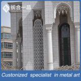 Ventana modificada para requisitos particulares del marco de Dcoration del acero inoxidable para la mezquita al aire libre