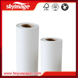 90GSM 72 '' *100m imperméabilisent le papier de transfert thermique de sublimation de roulis rapidement sec avec la résolution