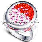 Base doble del anillo del acero inoxidable de los corazones para la fabricación de la joyería de DIY