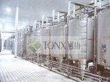 Tank van de Opslag van het roestvrij staal de Horizontale/Verticale voor Vloeibare Vloeistof