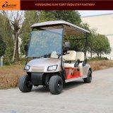 Carrello di golf elettrico personalizzato di Seater del nuovo modello 4