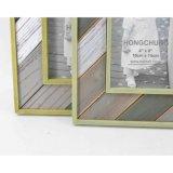 Frame de madeira antigo novo da foto para a decoração Home