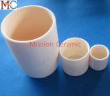 Crisol de cerámica industrial Al2O3 de la alta calidad de encargo