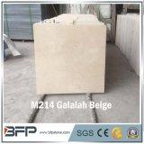 Mármore bege barato Polished de M214 Galalah para a placa de contorno e a telha de assoalho de mármore da casa de campo