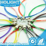 Fibra Pigtailset óptico FC APC SM 0.9m m de 12 colores