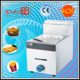 6L Table Top Gas Deep Fryer