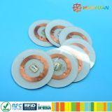 칩 암호화 RFID PVC 디스크 꼬리표를 추적하는 자산