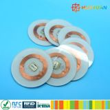 재고 관리 칩 암호화 RFID PVC 디스크 꼬리표