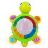 Brinquedo pequeno esperto educacional plástico do bebê da tartaruga dos miúdos