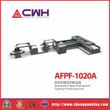 Máquina que raja y plegable del papel del carrete con la impresión en color 4 (pegamento frío)