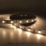 Barra flessibile 12/24V IP67 RGB della striscia del nastro LED del J. GS5050-48 LED