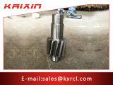 Parti del pezzo meccanico e della schiuma della vite dell'acciaio inossidabile di CNC