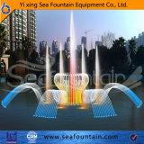 Fontaine de flottement de module de lac en bois steel