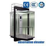 観察の上昇の観光のエレベーターのパノラマ式のエレベーター