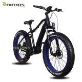 Vélo électrique de Moutain de gros de pneu moteur de manivelle