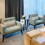 Salone blu fresco della mobilia del sofà della Grecia per camera di albergo
