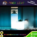 棒家具のプラスチック装飾LEDの照明植木鉢