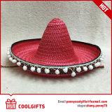 Cappello cinese all'ingrosso del Sombrero della paglia del Messico della fabbrica