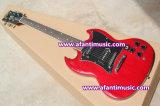 Guitarra elétrica de mogno de Afanti do estilo do corpo & da garganta/SG (ASG-547)