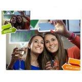 형식 iPhone를 위한 새로운 사치품 LED 가벼운 Selfie 전화 상자 6 6s 6 더하기 6splus 4.7