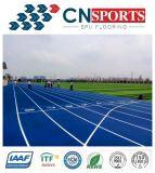 Atletische Renbaan van het Silicium Pu van de Laag van de nevel de Volledige van Goede Kwaliteit