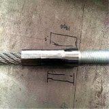 Goujon Rod de câble métallique de qualité avec des Theads