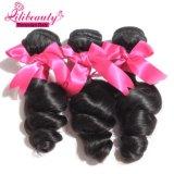Двойника волны человеческих волос девственницы Peruvian оптовой продажи 100% выдвижение волос свободного Weft