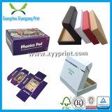 Personalizado Luxo Box Embalagens Folding Kraft Papelão Ondulado presente de papel com logotipo da impressão