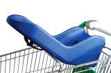 Supermarkt-Einkaufen-Laufkatze-Plastikbaby-Sitz