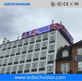 Indicador de diodo emissor de luz transparente da cortina de P16mm para anunciar