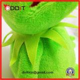 Stuk speelgoed van de Pluche van het Stuk speelgoed van de Pluche van de kikker het Kikker Gevulde