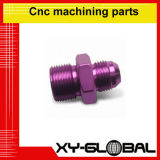복잡한 기계로 가공을 선반으로 깎고 맷돌로 가는 CNC