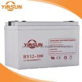 태양 에너지 시스템을%s 12V 100ah 태양 연산 축전지