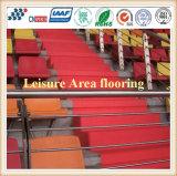 Pavimentazione resistente di zona di svago dell'abrasione variopinta a base d'acqua ed ambientale