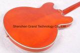 Guitare électrique de premier jazz creux orange du corps Es335 (TJ-223)