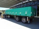 Toldos de algodão em vinil Tarp estofamento revestido para capa de caminhão